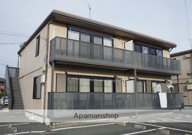静岡県浜松市浜北区、遠州小松駅徒歩18分の築15年 2階建の賃貸アパート