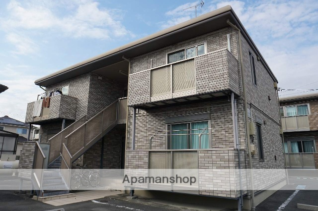 静岡県浜松市浜北区、浜北駅徒歩12分の築9年 2階建の賃貸アパート