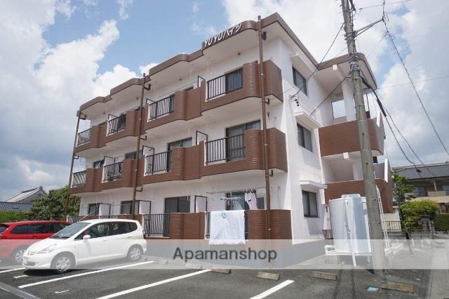 静岡県浜松市浜北区、遠州西ヶ崎駅徒歩13分の築25年 3階建の賃貸マンション