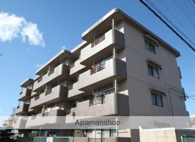 静岡県浜松市浜北区、遠州西ヶ崎駅徒歩14分の築22年 4階建の賃貸マンション
