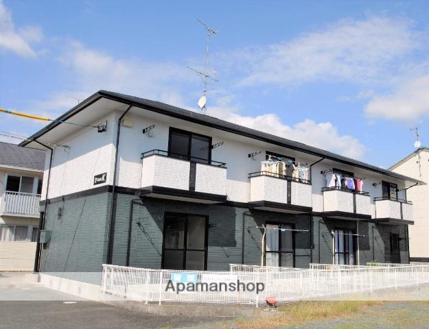 静岡県浜松市浜北区、遠州西ヶ崎駅徒歩24分の築17年 2階建の賃貸テラスハウス