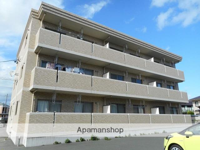 静岡県浜松市浜北区、遠州小松駅徒歩21分の築7年 3階建の賃貸マンション