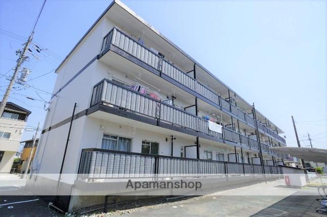 静岡県浜松市浜北区、遠州小松駅徒歩15分の築39年 3階建の賃貸マンション