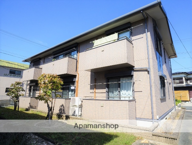 静岡県浜松市東区、浜松駅バス22分小池南下車後徒歩7分の築12年 2階建の賃貸アパート