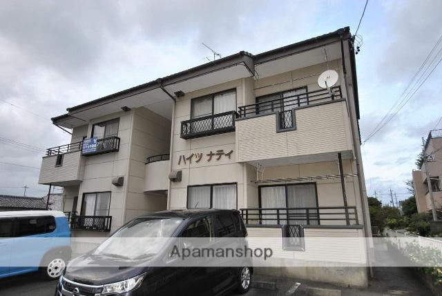 静岡県浜松市浜北区、遠州小松駅徒歩15分の築20年 2階建の賃貸アパート