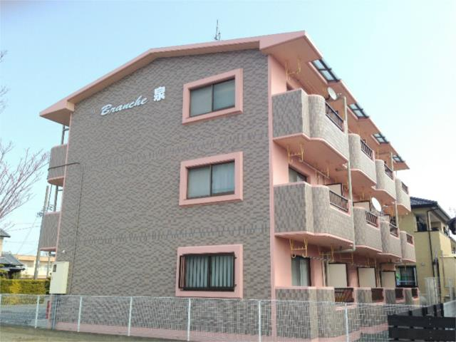 静岡県浜松市浜北区、遠州小林駅徒歩5分の築16年 3階建の賃貸マンション