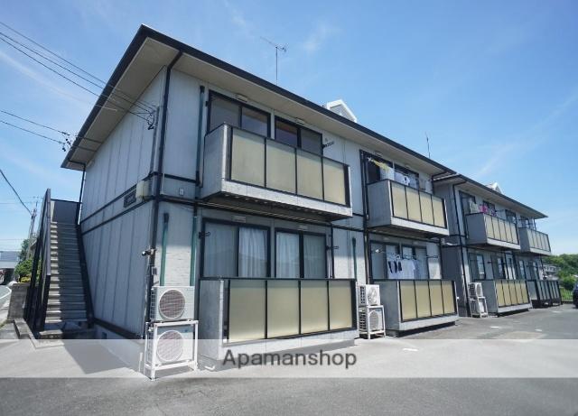 静岡県浜松市東区、浜松駅遠鉄バスバス39分市野上下車後徒歩1分の築17年 2階建の賃貸アパート