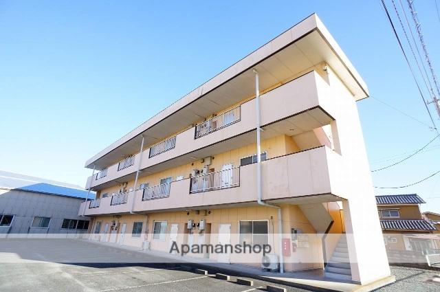 静岡県浜松市浜北区の築26年 3階建の賃貸アパート