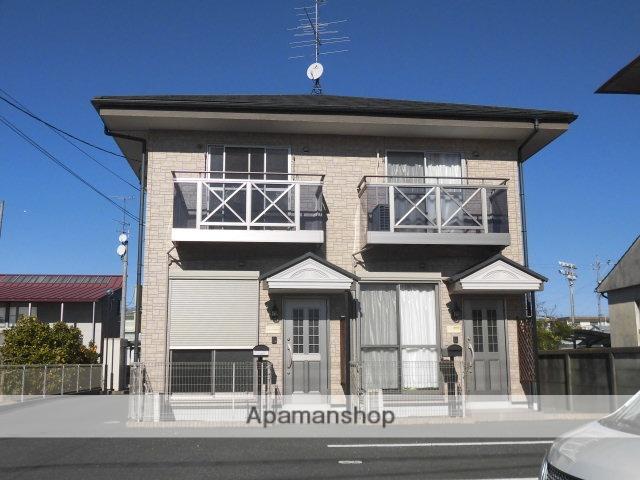 静岡県浜松市浜北区、浜北駅徒歩8分の築8年 2階建の賃貸テラスハウス