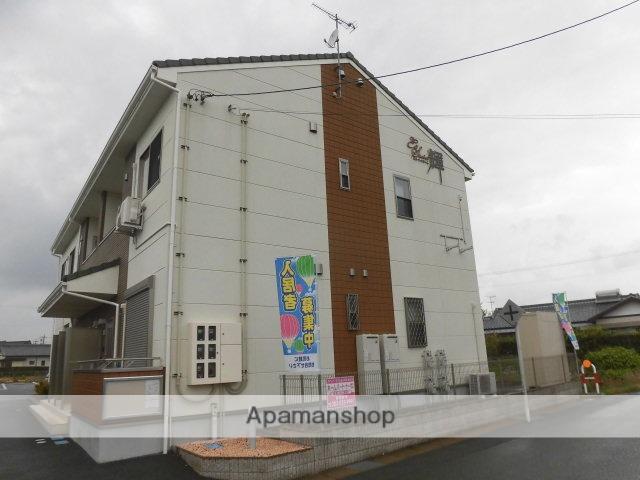静岡県浜松市浜北区、積志駅徒歩18分の築4年 2階建の賃貸アパート
