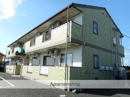 静岡県浜松市浜北区、遠州西ヶ崎駅徒歩24分の築16年 2階建の賃貸アパート