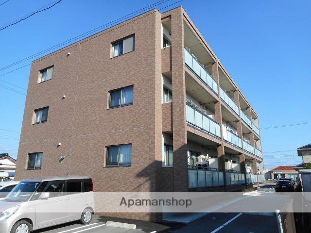 静岡県浜松市浜北区、遠州芝本駅徒歩15分の築3年 3階建の賃貸マンション