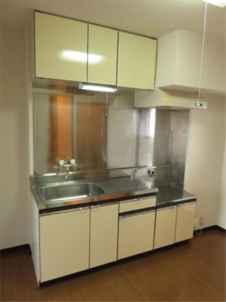メゾン・ド・アムール[2DK/41.7m2]のキッチン