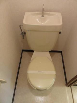 メゾン・ド・アムール[2DK/41.7m2]のトイレ