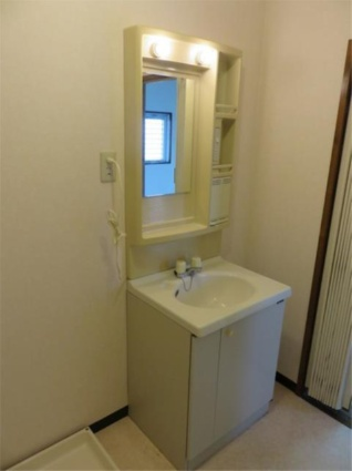メゾン・ド・アムール[2DK/41.7m2]の洗面所