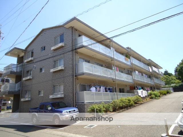 静岡県静岡市駿河区、草薙駅徒歩15分の築21年 3階建の賃貸マンション