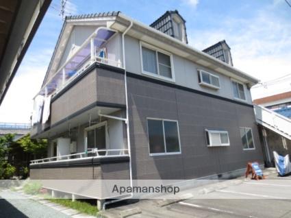 静岡県静岡市駿河区の築23年 2階建の賃貸アパート