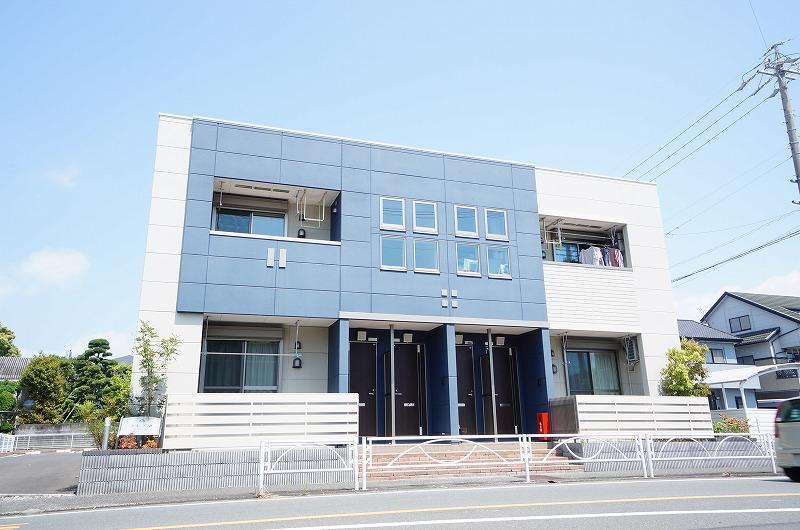 静岡県静岡市駿河区、静岡駅しずてつジャストラインバス20分中島下車後徒歩2分の築4年 2階建の賃貸アパート