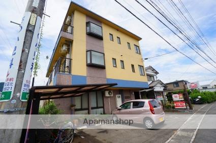 静岡県静岡市駿河区、安倍川駅徒歩15分の築20年 3階建の賃貸マンション