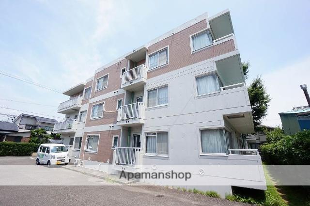 静岡県静岡市葵区、日吉町駅徒歩12分の築24年 3階建の賃貸マンション