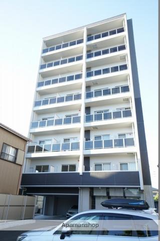 静岡県静岡市葵区、静岡駅徒歩17分の新築 8階建の賃貸マンション