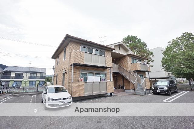 静岡県静岡市葵区、静岡駅しずてつジャストラインバス20分柳新田バス停下車後徒歩5分の築10年 2階建の賃貸アパート