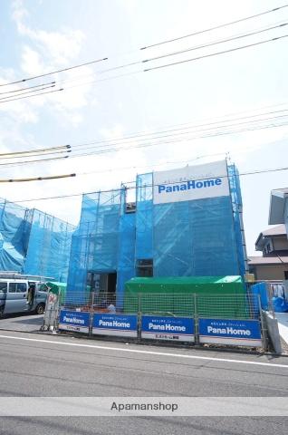 静岡県静岡市駿河区、静岡駅しずてつジャストラインバス22分東新田上下車後徒歩1分の新築 2階建の賃貸一戸建て
