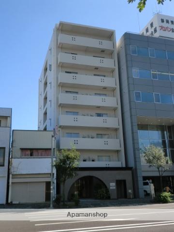 静岡県静岡市葵区、静岡駅徒歩15分の築10年 8階建の賃貸マンション