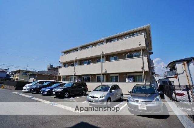 静岡県静岡市駿河区、静岡駅徒歩15分の築8年 3階建の賃貸アパート