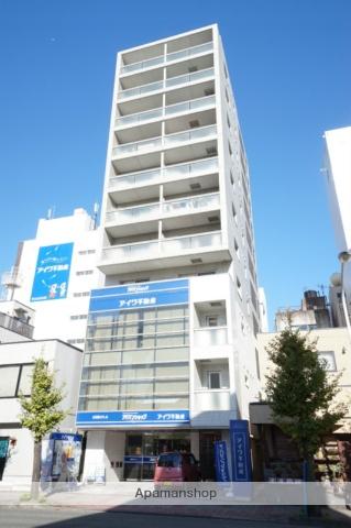 静岡県静岡市葵区、静岡駅徒歩10分の築9年 11階建の賃貸マンション