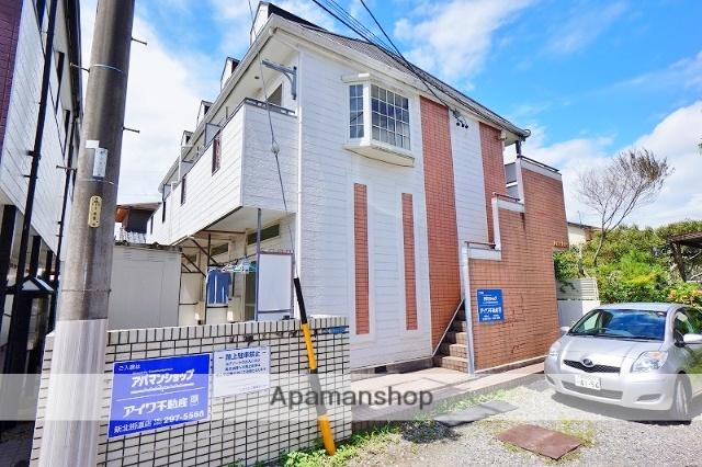 静岡県静岡市葵区、音羽町駅徒歩18分の築28年 2階建の賃貸アパート