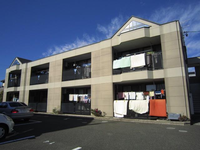静岡県静岡市駿河区、静岡駅しずてつジャストラインバス10分登呂遺跡入口下車後徒歩8分の築10年 2階建の賃貸アパート