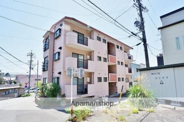 静岡県静岡市葵区、東静岡駅徒歩20分の築30年 3階建の賃貸マンション