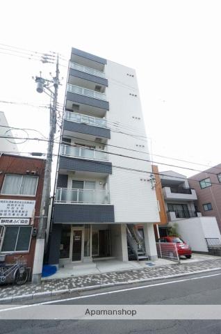 静岡県静岡市葵区、静岡駅徒歩11分の築2年 6階建の賃貸マンション
