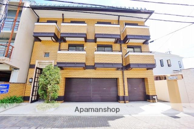静岡県静岡市葵区、新静岡駅徒歩10分の築32年 3階建の賃貸マンション