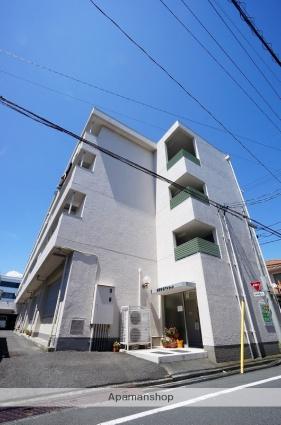 静岡県静岡市駿河区、静岡駅徒歩12分の築40年 4階建の賃貸マンション