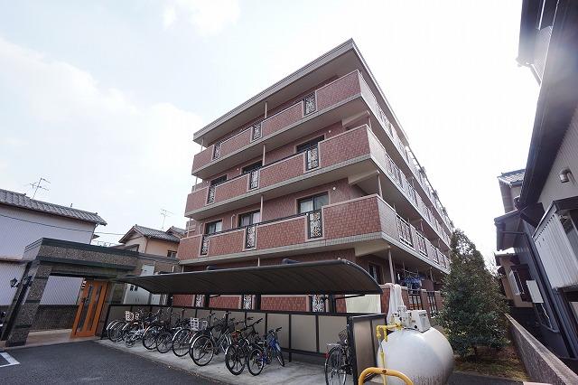 静岡県静岡市葵区、草薙駅徒歩20分の築12年 4階建の賃貸マンション