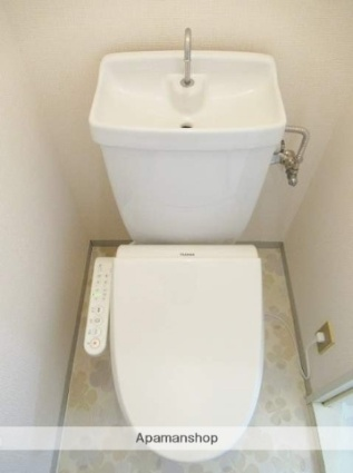 静岡県静岡市清水区西高町[2DK/44.92m2]のトイレ