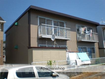 静岡県静岡市清水区、清水駅しずてつジャストラインバス13分下野バス停下車後徒歩6分の築32年 2階建の賃貸アパート