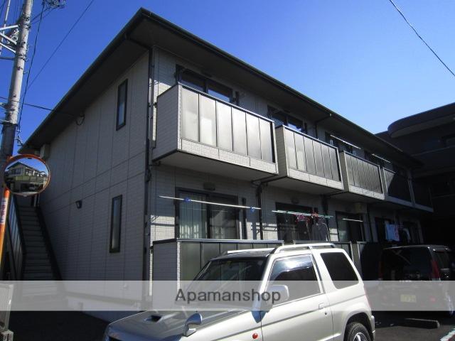 静岡県静岡市葵区、静岡駅しずてつジャストラインバス26分中央町下車後徒歩10分の築17年 2階建の賃貸アパート