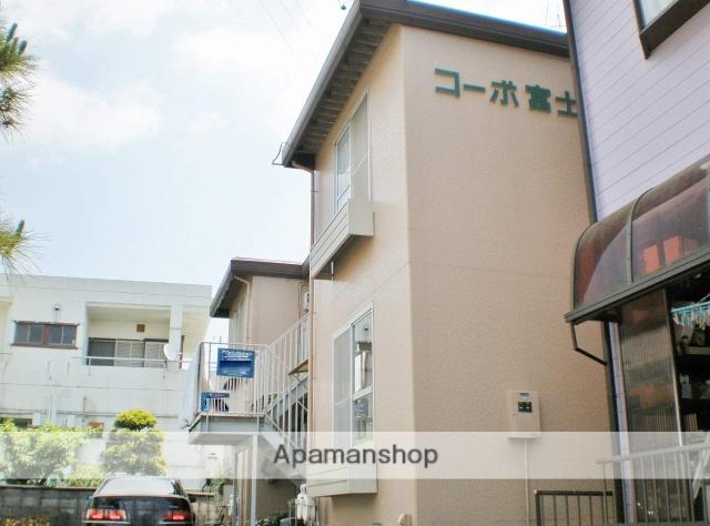 静岡県静岡市清水区、清水駅しずてつジャストラインバス10分第六中学校前バス停下車後徒歩3分の築32年 2階建の賃貸アパート