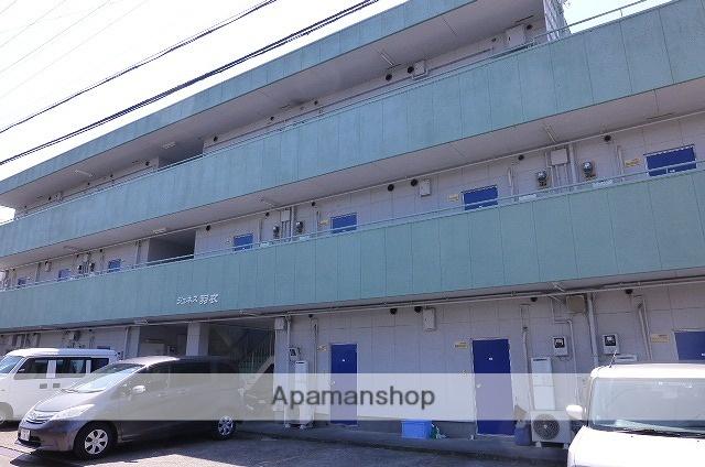 静岡県静岡市清水区、清水駅しずてつジャストラインバス21分折戸車庫バス停下車後徒歩6分の築31年 3階建の賃貸アパート