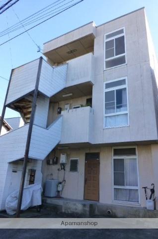 静岡県静岡市清水区、清水駅徒歩13分の築27年 3階建の賃貸アパート