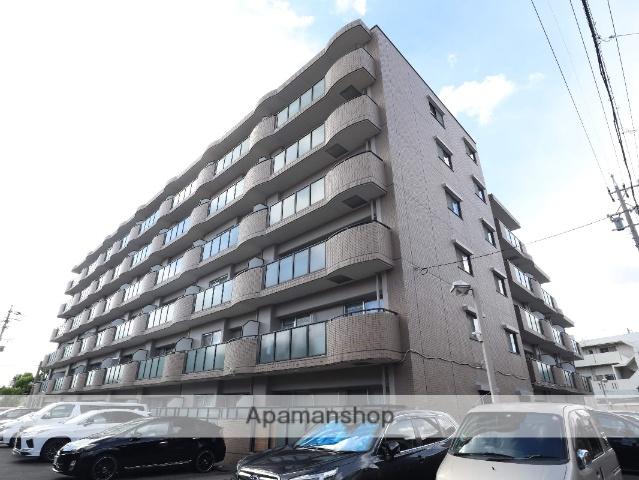 愛知県名古屋市昭和区、鶴舞駅徒歩11分の築23年 6階建の賃貸マンション