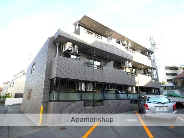 愛知県名古屋市昭和区、鶴舞駅徒歩11分の築24年 3階建の賃貸マンション