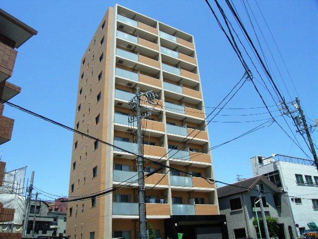 愛知県名古屋市昭和区、今池駅徒歩15分の築8年 10階建の賃貸マンション