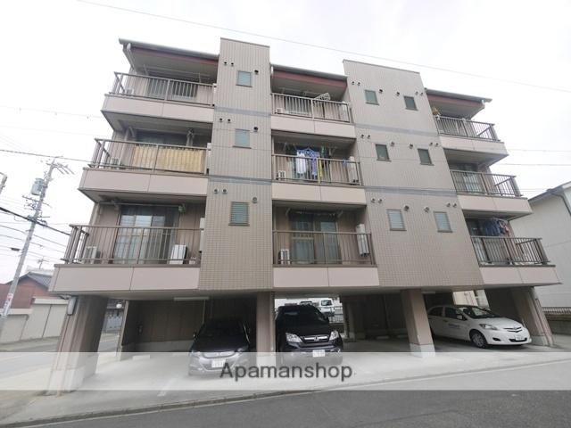 愛知県名古屋市昭和区、川名駅徒歩17分の築20年 4階建の賃貸マンション