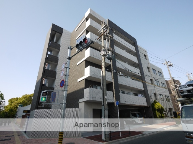 愛知県名古屋市昭和区、東別院駅徒歩16分の築3年 6階建の賃貸マンション