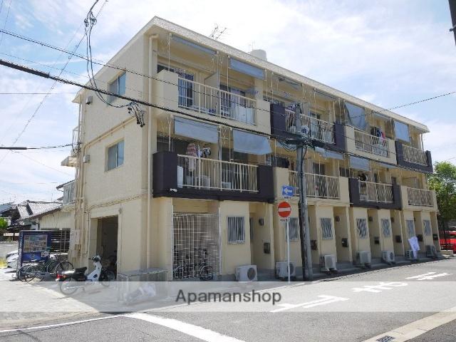 愛知県名古屋市昭和区、池下駅徒歩17分の築44年 3階建の賃貸マンション