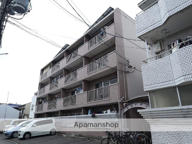 愛知県名古屋市昭和区、鶴舞駅徒歩11分の築30年 4階建の賃貸マンション